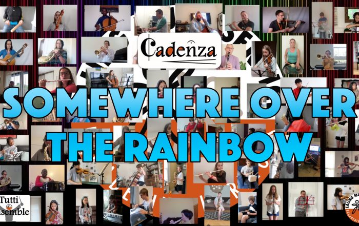 Video thumbnail for 'Somewhere over the rainbow' virtual orchestra performance