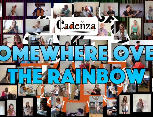 Virtual Orchestra Performs 'Somewhere Over the Rainbow'